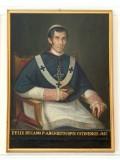 Bottega siciliana (1851), Ritratto del vescovo Felice Regano