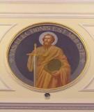 Bottega siciliana sec. XX, Affresco di S. Paolo