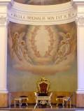 Bottega siciliana sec. XX, Affresco con Angeli e cherubini
