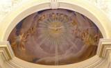 Bottega siciliana sec. XX, Affresco con Colomba dello Spirito Santo