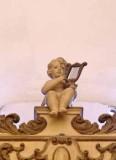 Bottega siciliana seconda metà sec. XVIII, Scultura di Angioletto con cetra