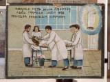 Bottega siciliana (1950), Dipinto ex voto con Guarigione miracolosa