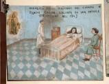 Bottega siciliana (1943), Dipinto ex voto con Guarigione miracolosa