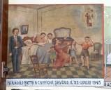 Bottega siciliana (1945), Dipinto ex voto con Risveglio miracoloso