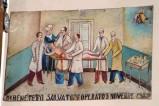Bottega siciliana (1932), Dipinto con Guarigione dopo intervento chirurgico