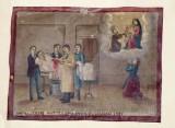 Bottega siciliana (1917), Dipinto ex voto con Guarigione miracolosa
