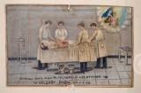 Bottega siciliana (1946), Dipinto ex voto con Guarigione miracolosa
