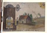 Bottega siciliana (1898), Dipinto ex voto con Salvataggio da caduta nel pozzo