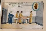 Bottega siciliana (1934), Dipinto ex voto con Guarigione miracolosa 2/4