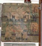 Bottega siciliana sec. XX, Dipinto ex voto con Guarigione miracolosa 1/5