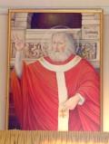 Bottega siciliana sec. XX, Ritratto di S. Sabino vescovo