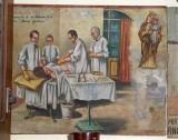 Fichera S. (1947), Dipinto ex voto con Guarigione miracolosa da ulcera