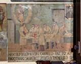 Bottega siciliana sec. XX, Dipinto ex voto con Guarigione miracolosa 2/5