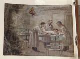 Bottega siciliana (1931), Dipinto ex voto con Guarigione miracolosa