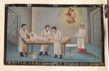 Bottega siciliana (1928), Dipinto ex voto con Guarigione miracolosa