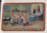 Bottega siciliana (1922), Dipinto ex voto con Guarigione miracolosa