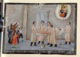 Bottega siciliana (1934), Dipinto ex voto con Guarigione miracolosa 4/4