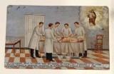 Bottega siciliana (1936), Dipinto ex voto con Guarigione da appendicite
