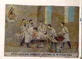 Bottega siciliana (1926), Dipinto con Guarigione dopo intervento chirugico