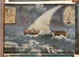 Bottega siciliana (1945), Dipinto ex voto con Salvataggio da naufragio