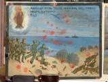 Bottega siciliana (1940), Dipinto ex voto con Salvataggio da bombardamento aereo