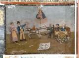Bottega siciliana sec. XX, Dipinto ex voto con Salvataggio miracoloso
