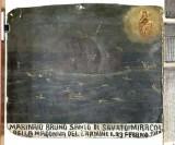 Bottega siciliana (1917), Dipinto ex voto con Salvataggio da naufragio