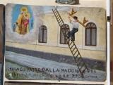 Bottega siciliana (1950), Dipinto ex voto con Salvataggio da caduta