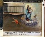Bottega siciliana (1950), Dipinto ex voto con Salvataggio da caduta nel vuoto