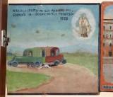 Bottega siciliana (1952), Dipinto con Salvataggio da incidente automobilistico