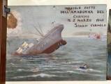 Bottega siciliana (1941), Dipinto ex voto con Salvataggio da naufragio