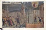 Bottega siciliana (1893), Dipinto ex voto con Evento miracoloso notturno