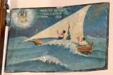 Bottega siciliana (1930), Dipinto ex voto con Salvataggio da naufragio