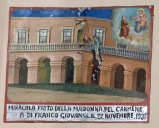 Bottega siciliana (1926), Dipinto ex voto con Salvataggio da caduta nel vuoto