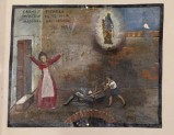Bottega siciliana (1939), Dipinto ex voto con Evento miracoloso notturno