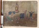 Bottega siciliana (1927), Dipinto ex voto con Risveglio miracoloso