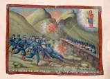 Bott. siciliana (1916), Dipinto ex voto con Salvataggio miracoloso da sparatoria