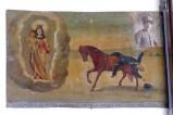 Bottega siciliana (1926), Dipinto ex voto con Salvataggio da caduta da cavallo