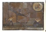 Bottega siciliana (1909), Dipinto ex voto con Salvataggio da caduta nel vuoto