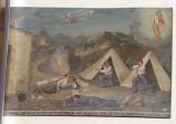 Bottega siciliana (1918), Dipinto ex voto con Salvataggio da bombardamento aereo