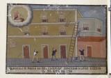 Bottega siciliana (1910), Dipinto ex voto con Salvataggio da caduta nel vuoto