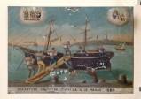 Bottega siciliana (1885), Dipinto ex voto con Salvataggio da caduta in mare