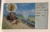 Bottega siciliana (1950), Dipinto ex voto con Salvataggio da esplosione