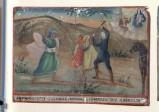 Bottega siciliana (1912), Dipinto ex voto con Salvataggio da duello