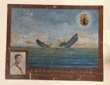 Bottega siciliana (1948), Dipinto ex voto con Salvataggio da naufragio
