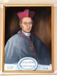 Bottega siciliana sec. XX, Ritratto del vescovo Nicola Maria Caracciolo