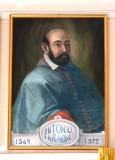 Bottega siciliana sec. XX, Ritratto del vescovo Antonio Faraone