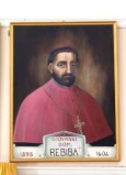 Bottega siciliana sec. XX, Ritratto del vescovo Giovanni Domenico Rebiba