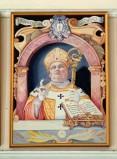 Bottega siciliana sec. XX, Ritratto del vescovo Bonaventura Secusio