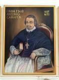 Bottega siciliana sec. XX, Ritratto del vescovo Francesco Antonio Caraffa